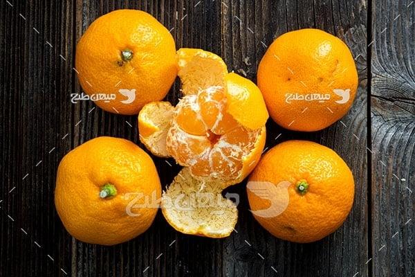عکس پرتقال و نارنگی