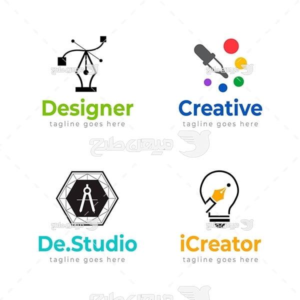 لوگو طراحی و خلاقیت