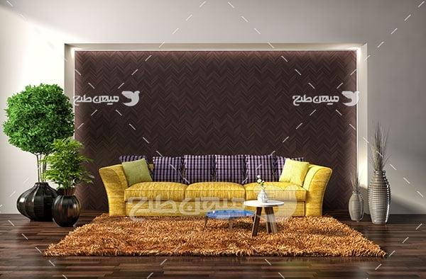 عکس طراحی نشیمن منزل