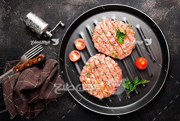 عکس خوراک گوشتی