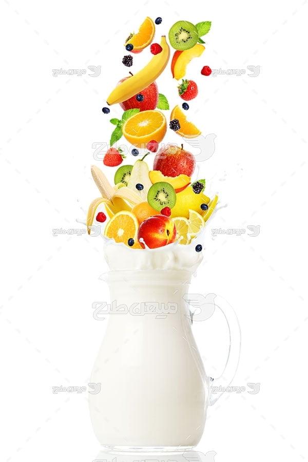 عکس دسر میوه ای