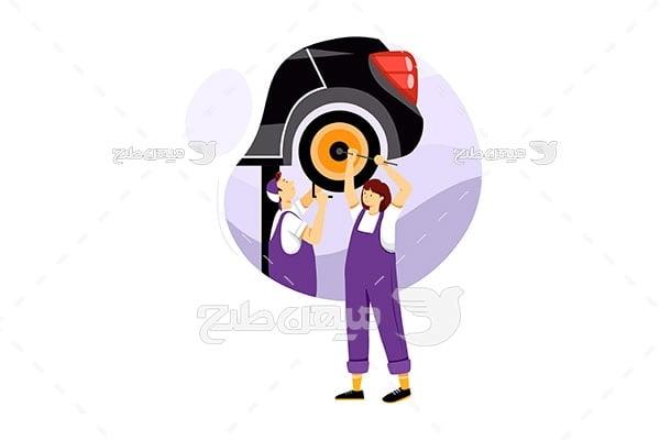وکتور مکانیکی خودرو