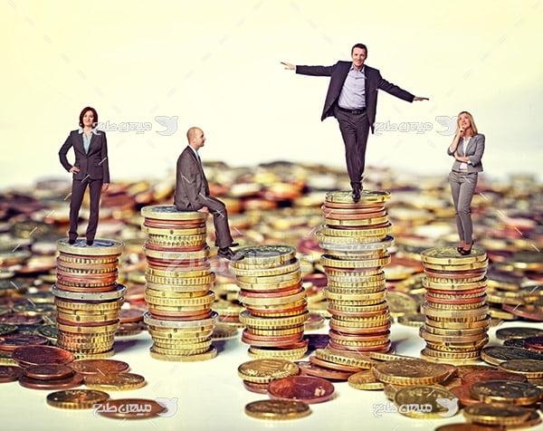 عکس سکه و ثروتمند شدن