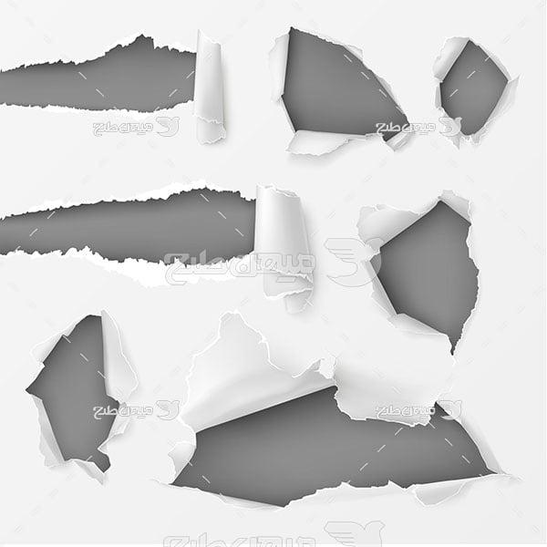 وکتور کاغذ دیواری سفید