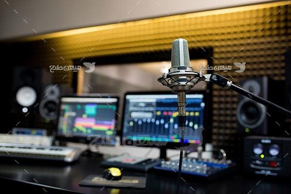 عکس تبلیغاتی موسیقی ضبط صدا