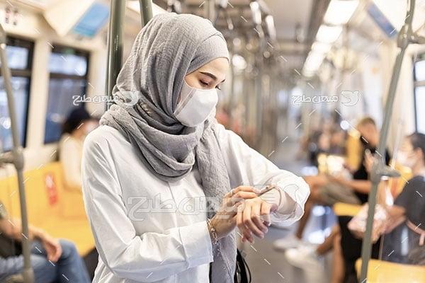 عکس حجاب زن در جامعه