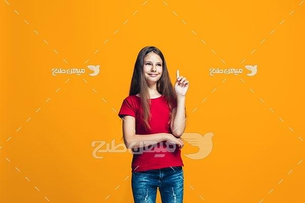 عکس دختر جوان