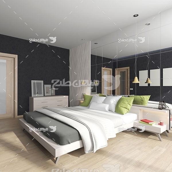 عکس دکوراسیون اتاق خواب مدرن