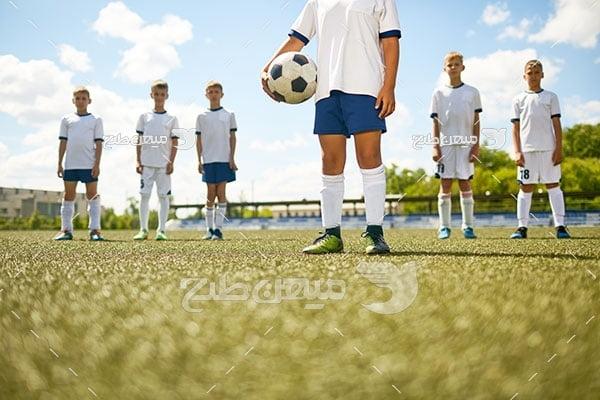 عکس فوتبالیست های نوجوان
