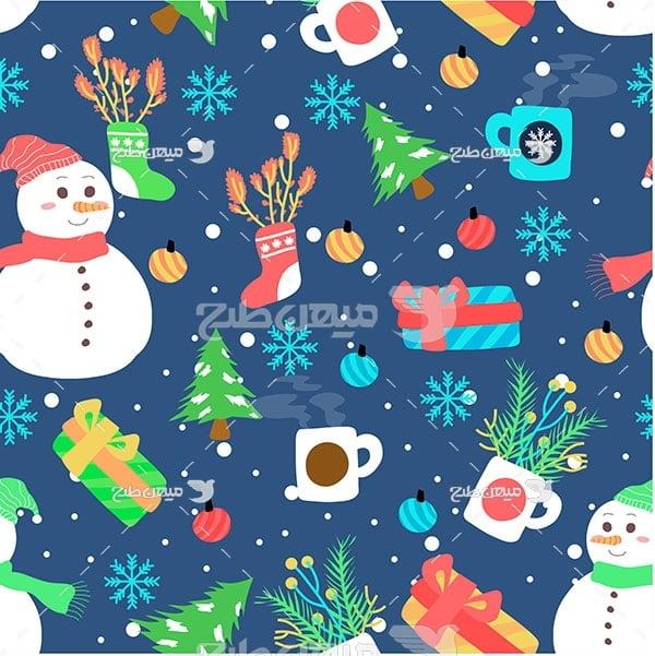 وکتور کاراکتربک گراند کریسمس