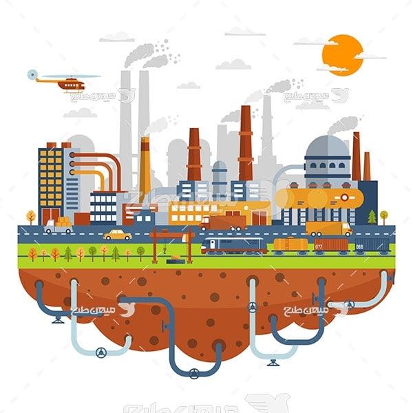 وکتور شهر و کارخانه جات صنعتی