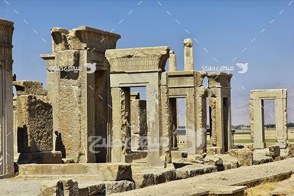 عکس آثار باستانی تخت جمشید