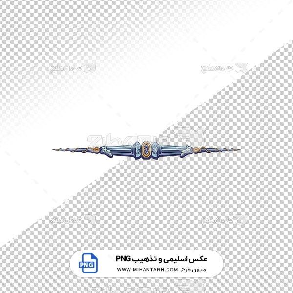 عکس برش خورده اسلیمی و تذهیب طرح سربرگ بالا