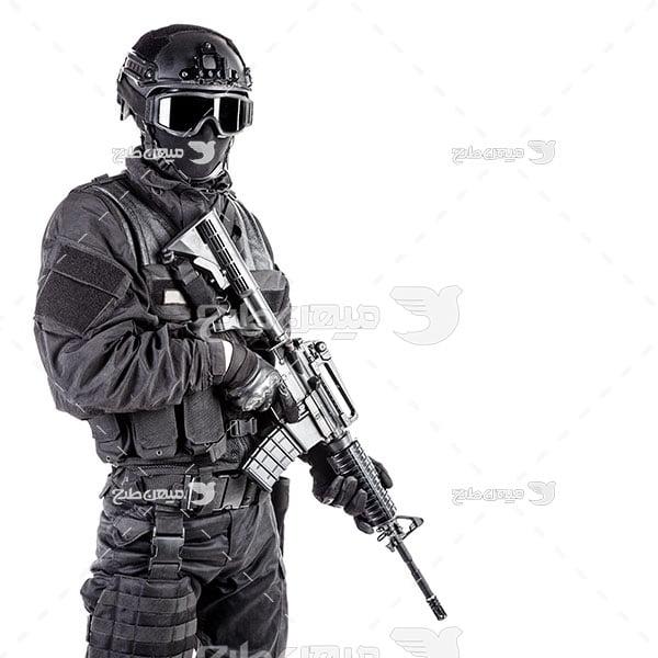 عکس مامور ویژه پلیس