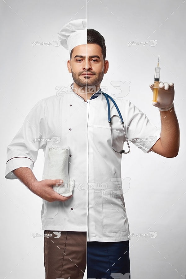 عکس شخصیت پزشک غذا