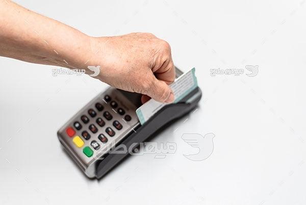 عکس پرداخت با پوز فروشگاهی