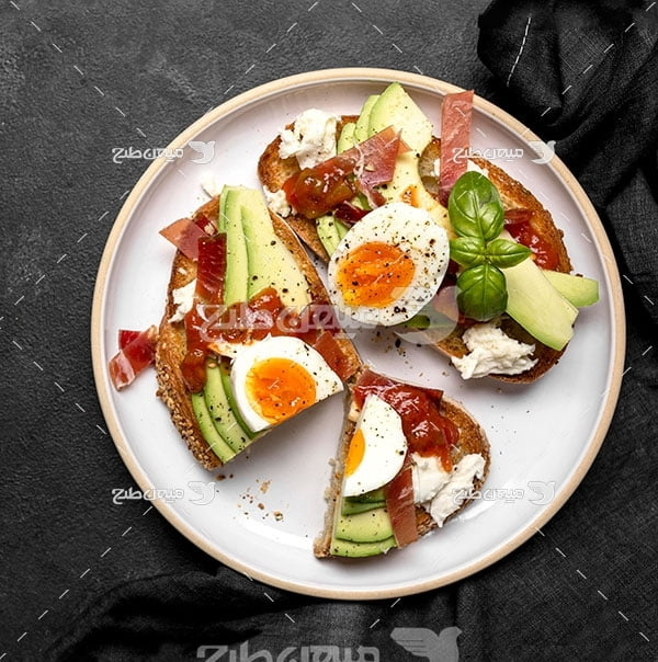 عکس صبحانه