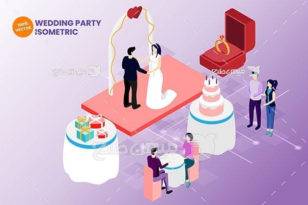 وکتور مراسم عروسی