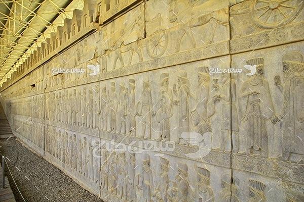 عکس امپراتوری باستانی تخت جمشید