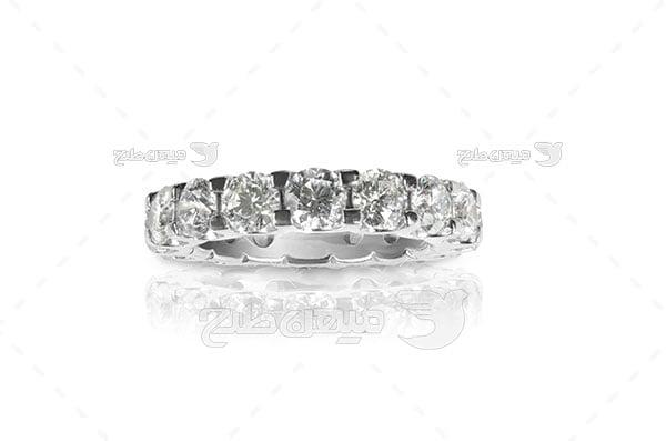 عکس تبلیغاتی حلقه الماس