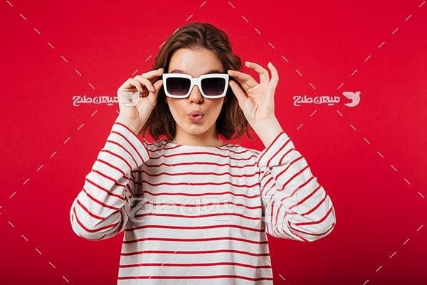 عکس تبلیغ عینک آفتابی