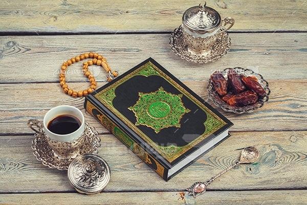 عکس تبلیغاتی حجاب وقت افطاری