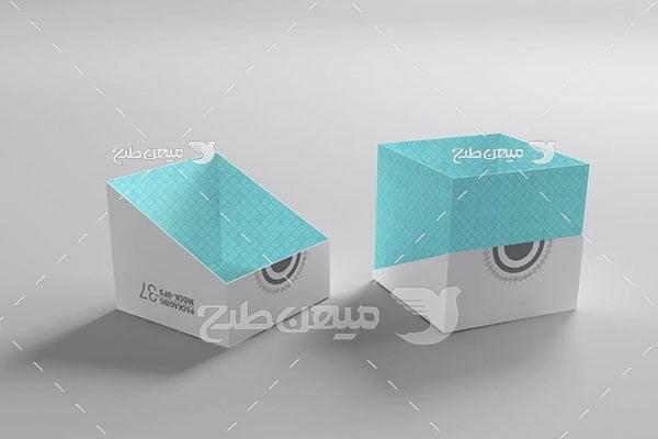 موکاپ جعبه بسته بندی کالا