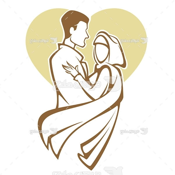 وکتور عروسی اسلامی