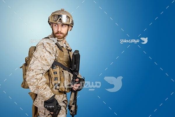 عکس نیروی مسلح ارتشی