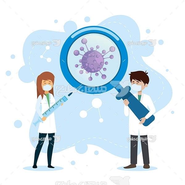 وکتور بررسی ویروس کرونا