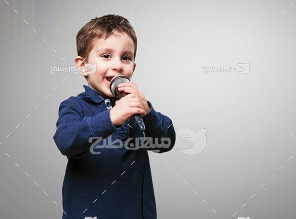 عکس خواننده کودک