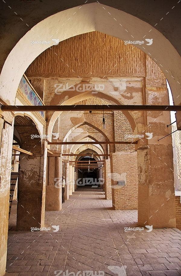 عکس مسجد جامع شهر نایین