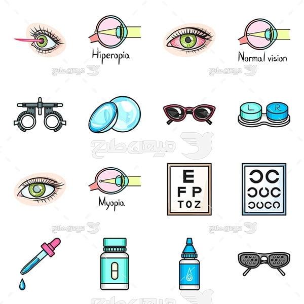 وکتور چشم و چشم پزشکی