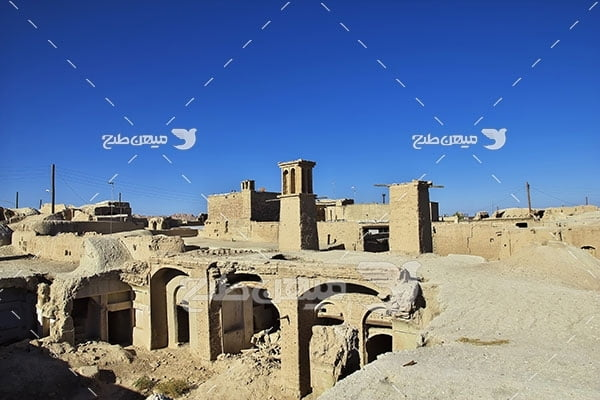 عکس شهر متروکه نایین اصفهان