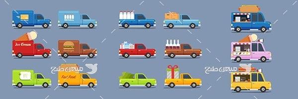 وکتور انواع خودرو