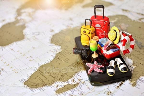 عکس تبلیغاتی مسافرت و تور آفریقا