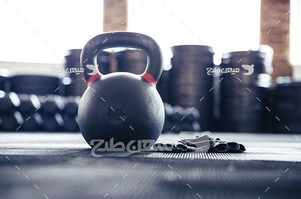 عکس وزنه بدن سازی