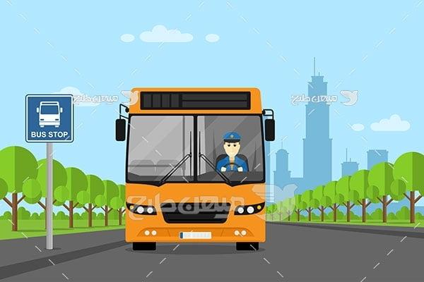 وکتور اتوبوس شهری