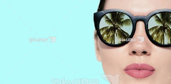 عکس عینک آفتابی