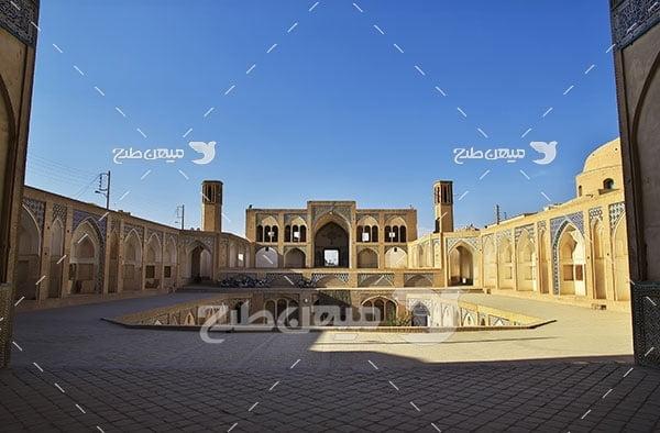 عکس مسجد آقا بزرگ کاشان