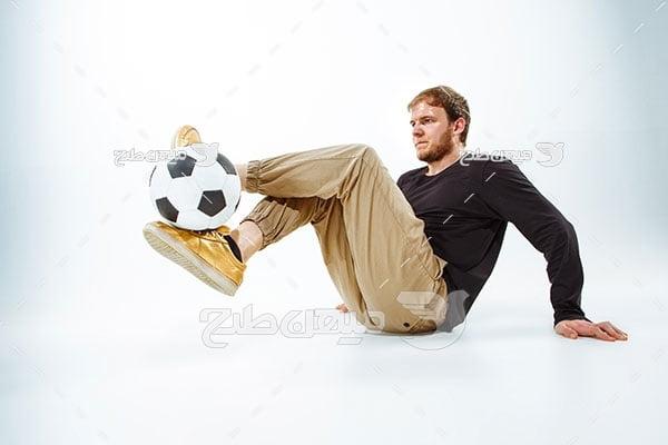 عکس کاراکتر فوتبالیست