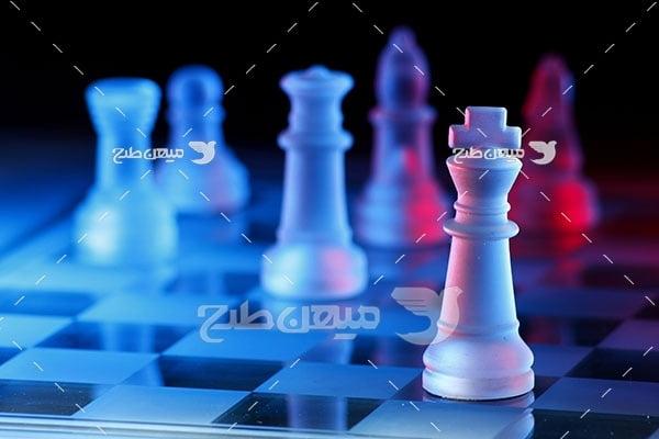 عکس مهره شطرنج