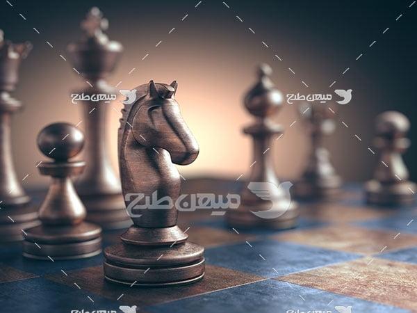 عکس مهره سیاه شطرنج