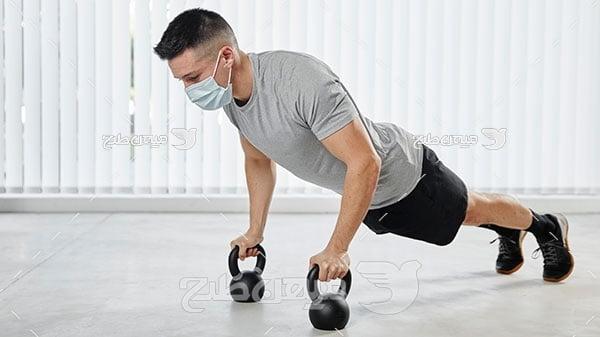 عکس مرد ورزشکار