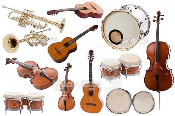 عکس آلات موسیقی