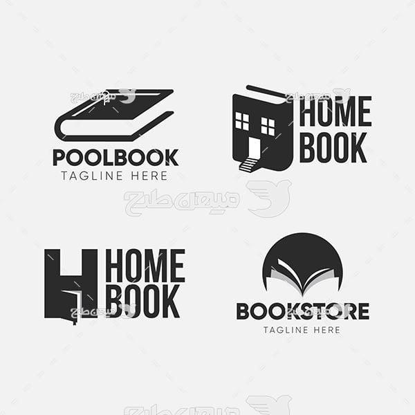 لوگو کتاب و کتابخانه