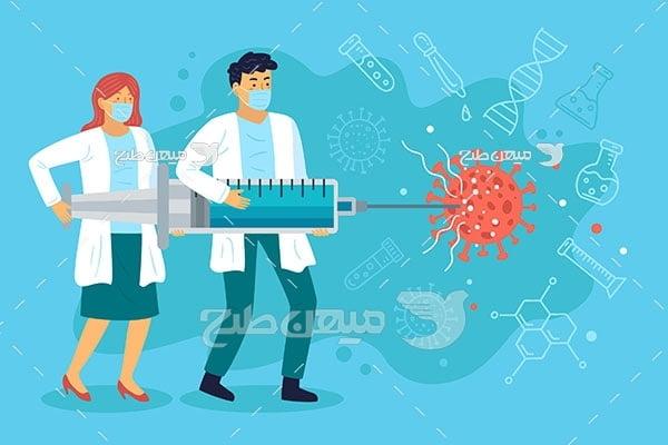 وکتور واکسن کویید 19