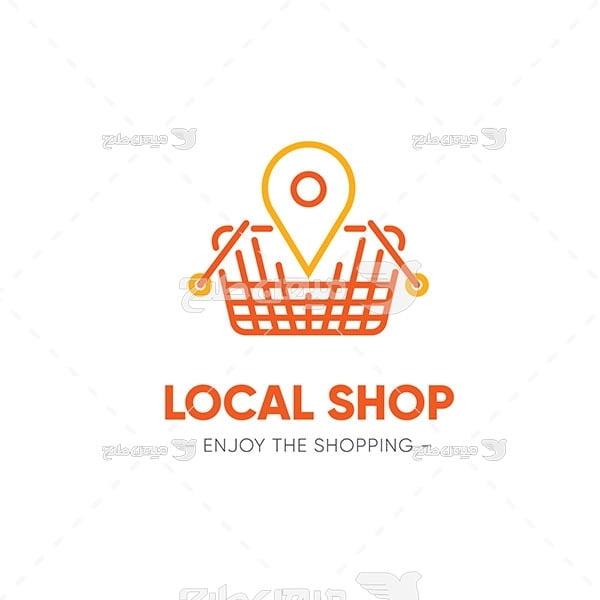 لوگو و آیکن فروشگاه محلی