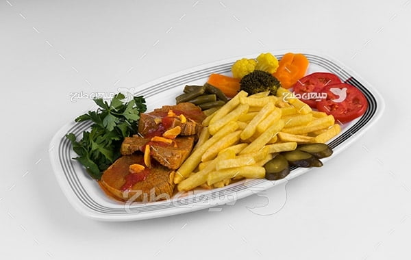 عکس خوراک گوشت