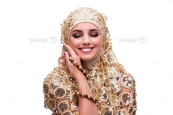 عکس تبلیغاتی حجاب عروس